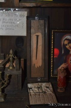 A snapshot of some of the haunted items from Ed & Lorraine Warren's Occult Museum...