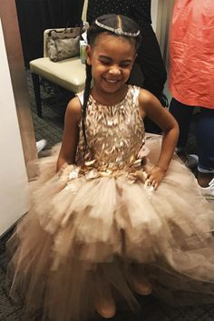 Miss Blue Ivy Carter at the MTV Video Music Awards at Madison Square Garden 28th August 2016