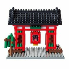 Nanoblock Kaminarimon by Nanoblock. $14.76. Includes detailed color instructions. Collect, build and display your works of art. Micro-sized building blocks will enable you to execute even the finest details like never before. A 3D work of art that fits in the palm of your hand. Create details with assorted sizes and colored pieces. From the Manufacturer                You don't have to be an engineer to create with nanoblock. With these micro-sized building blocks, 3D building...