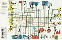 honda cx500 wiring diagram cx 500 cafe racers pinterest honda rh pinterest com honda cx500 wiring harness honda cx500 electrical diagram