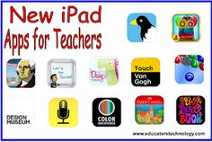 Educational Technology and Mobile Learning: A Round-up of 12 New Educational iPad Apps for Teachers