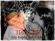Fan Art para TRAILER. UN TRIPLE DEFINITIVO, de Alma Gulop. (Maca - Bookceando Entre Letras)