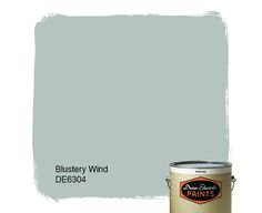 Dunn-Edwards Paints paint color: Blustery Wind DE6304 | Click for a free color sample