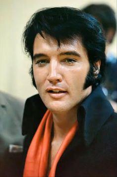 Elvis Presley, on stage
