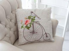 Isabel Nakışlı İç Dolgulu Kırlent 40x40 A.krem Hand Embroidery Patterns Free, Hand Embroidery Flowers, Embroidery Designs, Cushion Cover Designs, Shabby, Perfect Pillow, Art Classroom, Cross Stitch Designs, Fabric Art