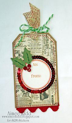 Living The Sweet Life!: SRM Christmas Tags