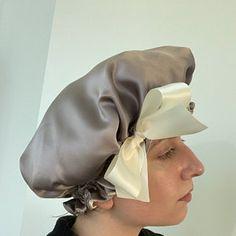 f28500342009f Silk Charmeuse Tichel Wild Rose Hair Snood Head Covering
