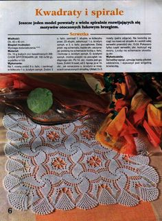 World crochet: Crocheted napkins