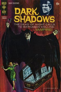 Dark Shadows (#8) - cover by George Wilson