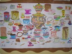 Коллективная работа Масленица Рисование и живопись Масленица Бумага