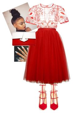 """Pentecost Sunday!!!!!"" by cogic-fashion ❤ liked on Polyvore featuring Christian Louboutin, Alice McCall and Vionnet"