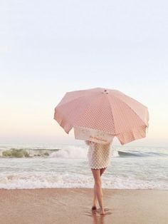 Urlaubsfoto mit Sonnenschirm. Idee für Urlaubsfotografie