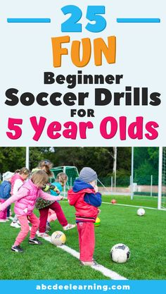 So you want to teach your 5 year old how to play soccer? I have come up with 26 fun and age appropriate drills. Soccer Drills For Beginners, Soccer Skills For Kids, Football Drills For Kids, Soccer Games For Kids, Youth Soccer, Soccer Tips, Soccer Videos, Volleyball Tips, Nike Soccer