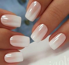 Nails How to do White Chrome Nails Chrome nails are killing the game right now and honestly, we can't get enough of 'em! So here& some chrome nail inspo for you and tips on how to achieve this high-shine look! White Chrome Nails, White Nail Art, White Nails, Pink Nail, White Nail Designs, Nail Art Designs, Makeup Designs, French Nails, Manicures