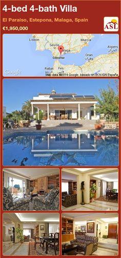 4-bed 4-bath Villa in El Paraiso, Estepona, Malaga, Spain ►€1,950,000 #PropertyForSaleInSpain