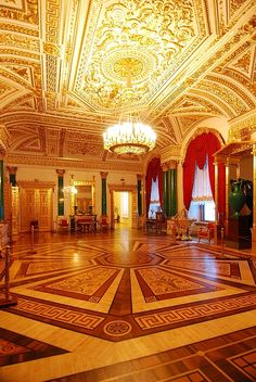 State Rooms, Winter Palace (The Hermitage)