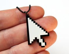 Mouse cursor 8bit pixels  Arrow by milkool on Etsy, $14.00 #computer #technologic