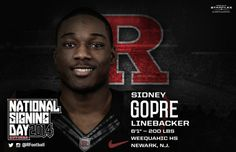 Rutgers Football - Signing Day Player Card