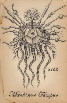 The Art of Daniel Martin Diaz. Transmutation, Graphite on Paper, Sold