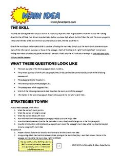 Downloadable PDFs break down each ACT test topic. Includes mini practice test & answer key w/ explanations. Topics are fun for teens. Best of all, some of them are FREE!
