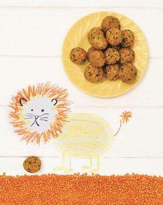 "Carrot-lentil-millet balls - Triassic - Baby & Pregnancy Möhren-Linsen-Hirse-Bällchen – Trias – Baby & Schwangerschaft From: ""Veggie-Baby"", TRIAS Verlag. Baby Led Weaning, Fingerfood Baby, Baby Food Recipes, Healthy Recipes, Lunch Boxe, Baby Finger Foods, Homemade Baby Foods, Homemade Dog, Baby Supplies"