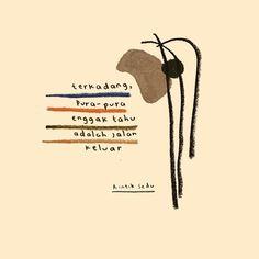 Quotes Lucu, Cinta Quotes, Quotes Galau, Story Quotes, Mood Quotes, Life Quotes, Tumblr Quotes, Text Quotes, Qoutes