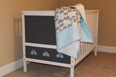 mohaus: Nursery: Crib and Blanket