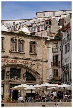 Café Santa Cruz, Coimbra, Portugal  Copyright: Hugo Cardoso