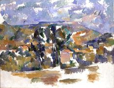 Mont Sainte-Victoire Seen from les Lauves - Paul Cezanne - WikiArt.org
