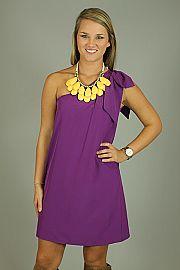 Best of Bows Dress, Purple #EasyNip
