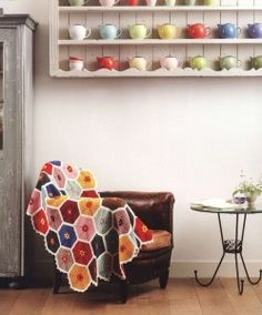 honeycomb afghan pattern crochet blanket