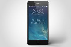 iPhone 6 Mock-Up Professional premade scenes, great for your web design showcase, product, presentations, advertising and much more: Realistic Looking Template Files, smart Objects, high Resolution, photoshop Version: CS5 or Higher,  organized Layers #mockup #iphone #iphone6 #mockupiphone, #mockupsiphone #mockups #iphone6mockups, #iphone6psd #iphone6psdmockups