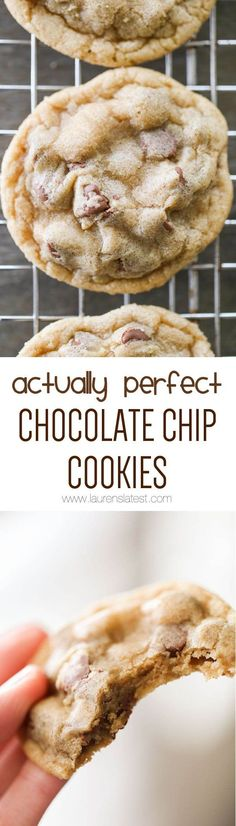 Actually Perfect Chocolate Chip Cookies