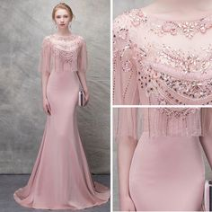 Chic Prom Dresses Mermaid Off Shoulder Floral Beautiful Prom Dress Pink Evening Dress Glamorous Evening Dresses, Grey Evening Dresses, Burgundy Evening Dress, Pink Prom Dresses, Beautiful Prom Dresses, Elegant Dresses, Sexy Dresses, Homecoming Dresses, Fashion Clothes