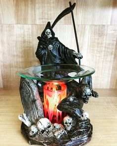 Graveyard Reaper Electric Oil Warmer, Home Fragrances, Fragrance Oil, Essential Oils, Essential Oil Uses, Essential Oil Blends