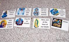 hail mary sequencing cards