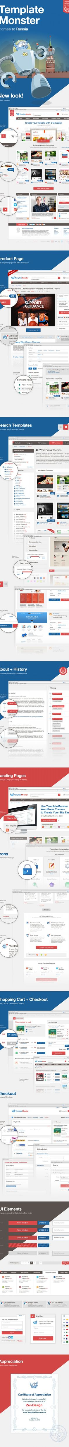 TemplateMonster – 2013 redesign