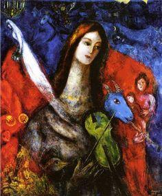 """Concierto azul"", Marc Chagall"