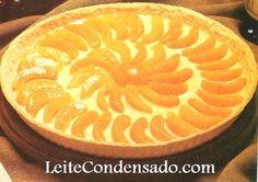 Torta de Pêssegos | Leite Condensado