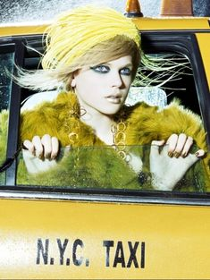 Gabriella Wilde - stunning in yellow