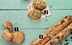 1 sund dej - 3 lækre brød