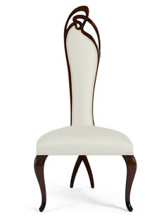 "#modern #nature ""Evita"" #chair by Christopher Guy, reminiscent of Art Nouveau"