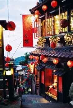ジブリ映画の料理が食べたい♡あの作品の「#ジブリ飯」再現レシピ10選 - LOCARI(ロカリ) Taiwan Travel, China Travel, Chinese Architecture, Historical Architecture, Chinese Culture, Japanese Culture, Wall Paper Decor, Japon Illustration, Night Photos