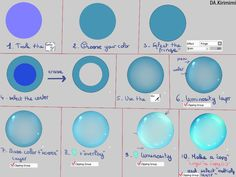 Tutorial bubble SAI by Kirimimi.deviantart.com on @deviantART