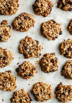 "Banana Chocolate Chip Breakfast Cookies (vegan & gluten-free) from ""Pantry to Plate"""