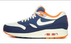Nike Air Max 1 Essential Total Crimson/Sail-Squadron Blue
