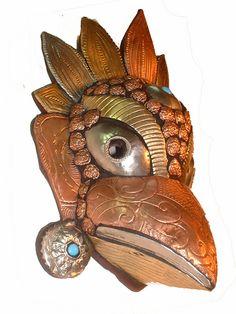 Garuda Metal Mask