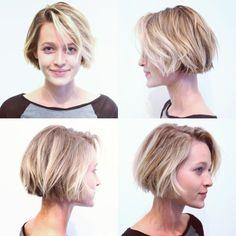 Co Tran Haarperfektion - Short Hair Cuts Style Frisuren - Short Bob Hairstyles, Pretty Hairstyles, Hair Inspo, Hair Inspiration, Short Hair Cuts, Short Hair Styles, Pelo Pixie, Pinterest Hair, Great Hair