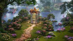 ArtStation - The Wedding Garden, Victoriya Anda