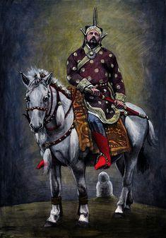 Hungary, Samurai, Faith, Painting, Google, Historia, Attila, Painting Art, Paintings